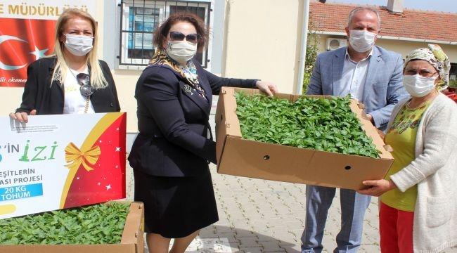 EGİKAD'dan yerli ve milli tohuma destek