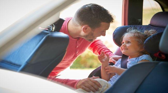 Araçta Çocukların Güvenliğine Dikkat!